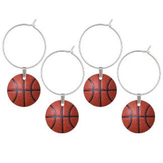 Idéer för party för baskettema vuxna berlock vinglas