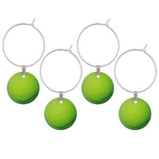 Idéer för party för tennisbolltema vuxna berlock vinglas