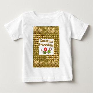 Ifrågasätta ALLT: Meditera VISHETord LOWPRICS T Shirts