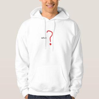 ifrågasätta sweatshirt
