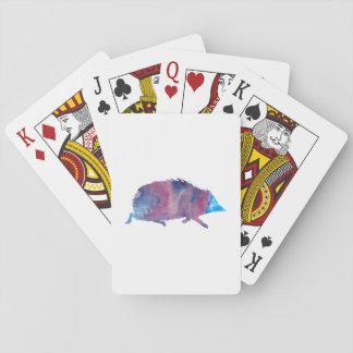 Igelkott Spel Kort