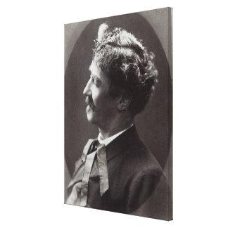 Ignacy Jan Paderewski, c.1919 Canvastryck