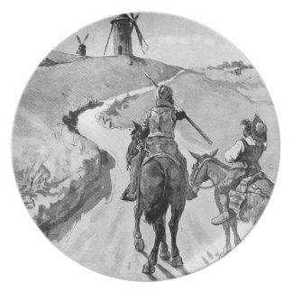 III Centenario-Universitetslärare Quixote av José  Tallrik