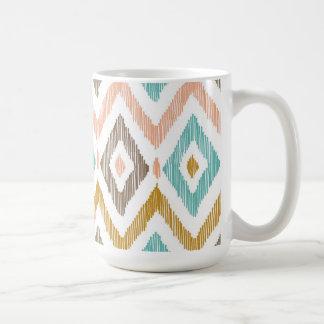 Ikat damast kaffemugg