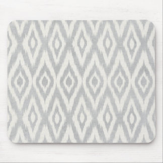 Ikat för grå Aztec pastellfärgad vattenfärg mjukt Musmatta