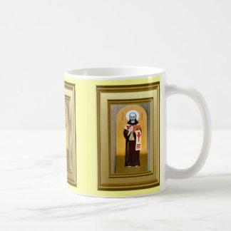 Ikon av en Celtic saint Kaffemugg