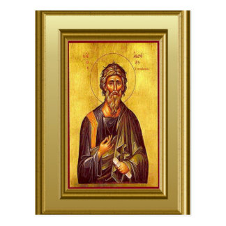 Ikon av St Peter Vykort