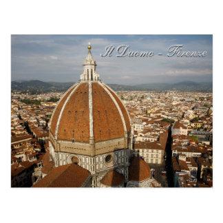 Il-Duomo - Firenze Vykort