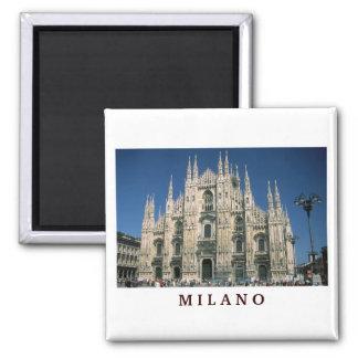 """Il-Duomo, Milan, italien"" magnet"