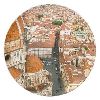 Il-Duomodi Firenze - den Florence kupolen Tallrik