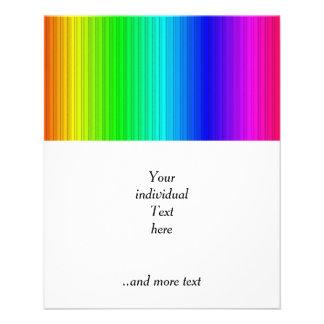 ila randar, regnbåge  reklamblad 11,5 x 14 cm