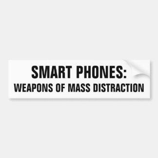 Ila telefoner: Vapen av samlas förvirring Bildekal