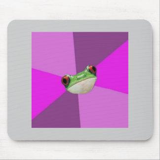 Illaluktande djur Meme för Bachelorette grodarådgi Musmattor