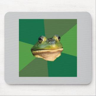 Illaluktande djur Meme för ungkarlgrodarådgivning Musmatta