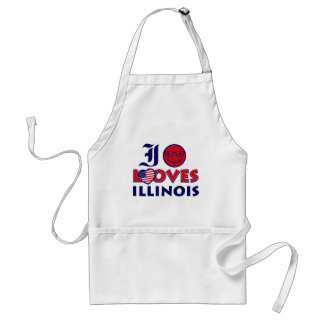 Illinois älskaredesign förkläde