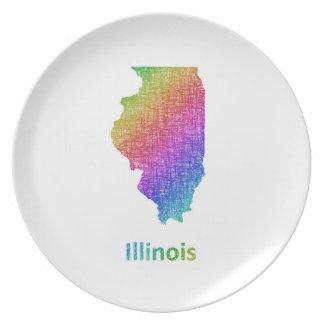 Illinois Tallrik
