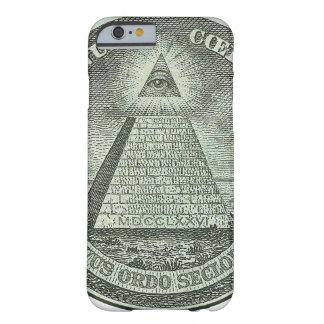 Illuminati - allt seende öga barely there iPhone 6 fodral