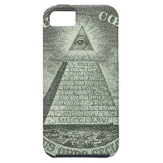 Illuminati - allt seende öga iPhone 5 cases