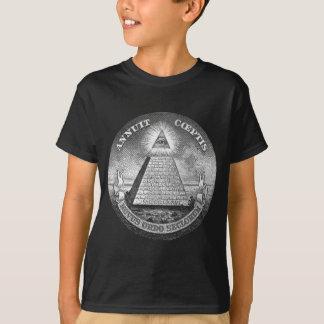 Illuminati allt seende öga tee