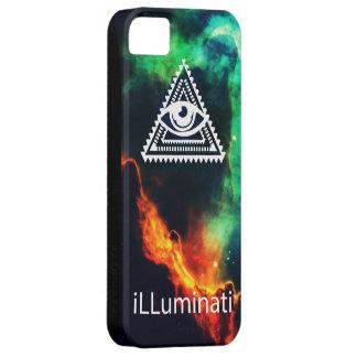 illuminati barely there iPhone 5 fodral