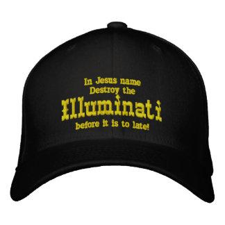 Illuminati Broderad Keps