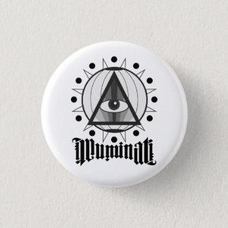 Illuminati Mini Knapp Rund 3.2 Cm