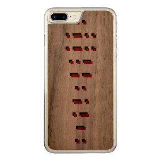 ILLUMINATI (morse kodifierar), Carved iPhone 7 Plus Skal