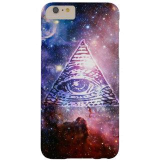 Illuminati nebula barely there iPhone 6 plus skal