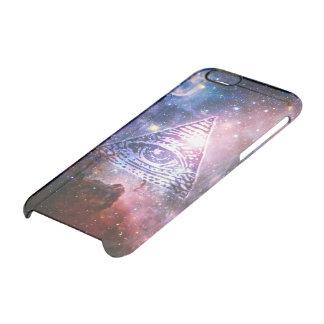 Illuminati nebula clear iPhone 6/6S skal