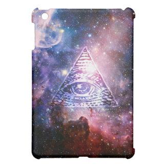 Illuminati nebula iPad mini mobil skal