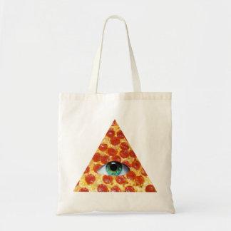 Illuminati Pizza Budget Tygkasse