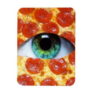 Illuminati Pizza Magnet