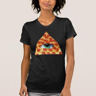 Illuminati Pizza T-shirts