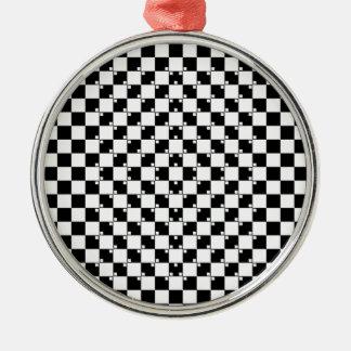 Illusionsamling. Objekt 3 Julgransprydnad Metall