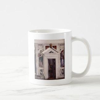 Illusory dörr av Paolo Veronese Kaffemugg
