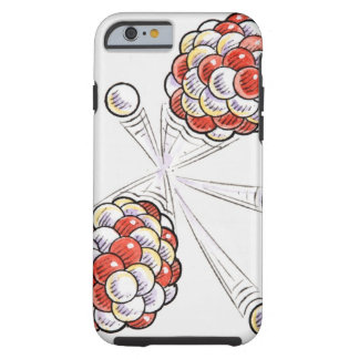 Illustration av kluvna atoms och neutrons tough iPhone 6 case