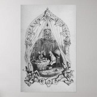 """Illustration """"det Pickwick papper av Charles Poster"""