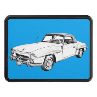 Illustration för bil för klassiker för sl för skydd för dragkrok