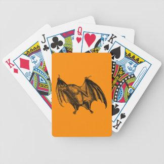 Illustration för fladdermöss för spelkort