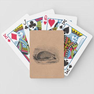 Illustration för igelkottar för spelkort