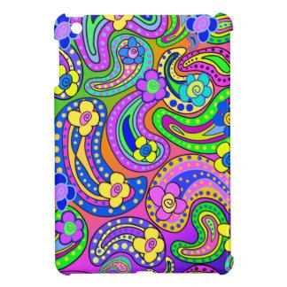 Illustration för Paisley och vallmoiPadkortkort iPad Mini Skydd