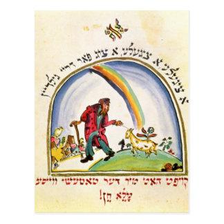 """Illustration för """"Tchad Gadya"""" från Vykort"""