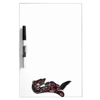 Illustration för utter för indianHaidakonst Skrivtavlor