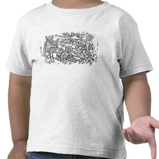 Illustration från 'Kalendaren av shepherds Tee Shirts