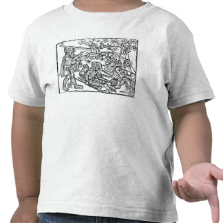 Illustration från 'Kalendaren av shepherds Tee Shirt