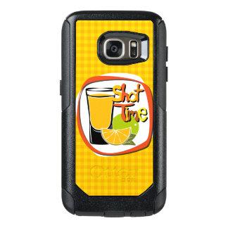 """Illustration som skjutas med citronen """"sköt Time OtterBox Samsung Galaxy S7 Fodral"""