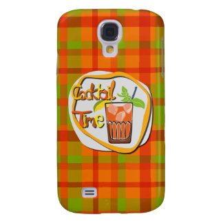 """Illustrationcoctail med citron""""coctailen Time """", Galaxy S4 Fodral"""
