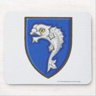 Illustrationen av det heraldiska fisksymbolet musmatta