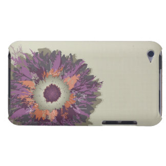 Illustrerad blomma barely there iPod covers