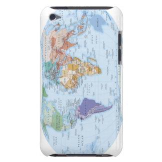 Illustrerad karta 4 Case-Mate iPod touch case